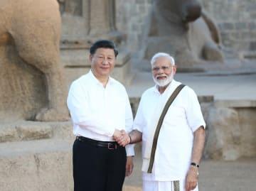 習近平主席、インド首相と会見