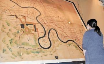 仙台藩祖伊達政宗が築いた当時の街並みが描かれた「奥州仙台城絵図」