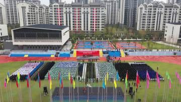 第7回世界軍人運動会 選手村が「開村」