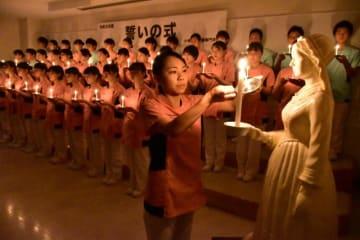 小林看護医療専門学校の「誓いの式」