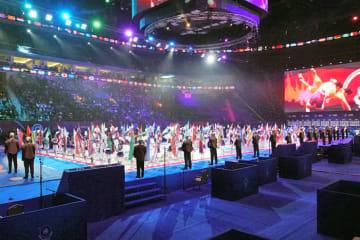 東京オリンピックのシード権争いのスタートだった2019年世界選手権(開会式)