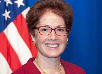 Former Ukraine Ambassador Marie Yovanovitch