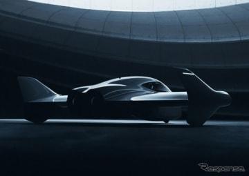 ポルシェとボーイングが共同開発する空飛ぶ車のイメージ
