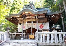 有馬温泉の守護神を祭る湯泉神社=神戸市北区有馬町