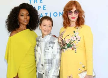 Angela Bassett, Gail Abarbanel & Christina Hendricks Attended The Rape Foundation's Annual Brunch