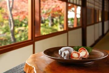 季節の和菓子「粋甘粛(すいかんしゅく)」
