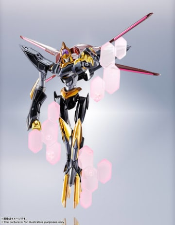 「コードギアス」シリーズの蜃気楼のフィギュア「METAL ROBOT魂<SIDE KMF> 蜃気楼」(C)SUNRISE/PROJECT L-GEASS Character Design (C)2006-2017 CLAMP・ST
