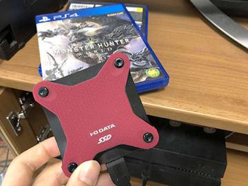PS4のロード時間を短くする外付けSSDの需要がにわかに増している