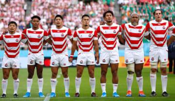 ラグビー日本代表 写真:ロイター/アフロ