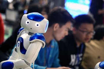 スマートロボットコンテスト2019が開幕 山東省青島市