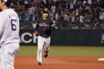 5安打3本塁打6打点と大暴れしたソフトバンク・今宮健太【写真:荒川祐史】
