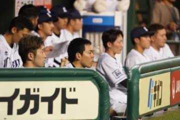 西武は連覇するも、2年連続で日本シリーズ進出を逃した【写真:荒川祐史】