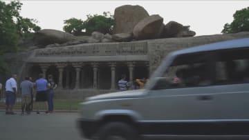 1400年の歴史、岩石寺院の町マハーバリプラム インド