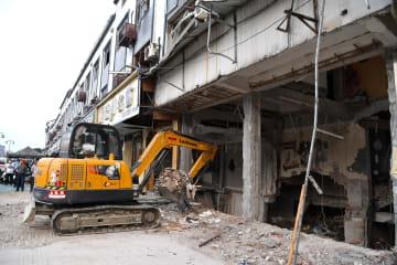無錫市の飲食店でガス爆発、9人死亡 江蘇省