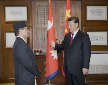 習近平主席、ネパール上院議長と会見