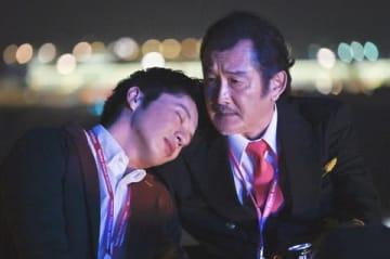 連続ドラマ「おっさんずラブ-in the sky-」のペアショット =テレビ朝日提供