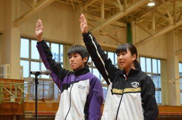写真は北海道地区大会の開会式の様子