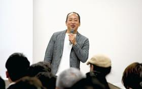 共生社会について語る雄谷理事長
