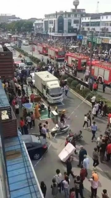 レストラン爆発の瞬間捉えられる、19人死傷―中国