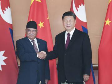 習近平主席、ネパール共産党共同議長と会見 新型政党関係の構築強調