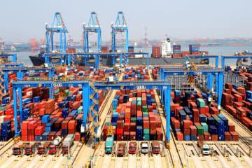 中国、1~9月の輸出入額22兆9100億元 2・8%増
