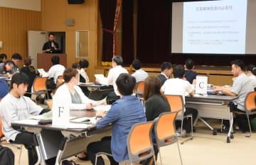 DPATの必要性や県内の運営などについて学んだ研修会=吉野ヶ里町の肥前精神医療センター