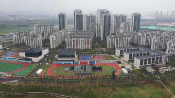 世界軍人運動会まもなく開幕 選手村を鳥瞰