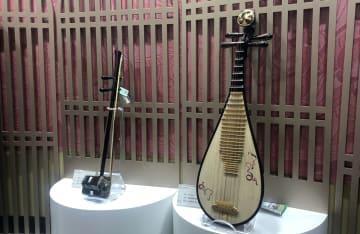 上海の老舗楽器メーカー 「故宮文化」シリーズなど新作楽器を発表