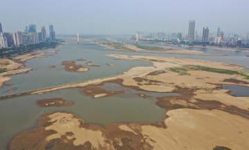 江西省、干ばつオレンジ警報発令 贛江南昌区間は水位低下