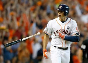 Carlos Correa: Division Series - Kansas City Royals v Houston Astros - Game Four