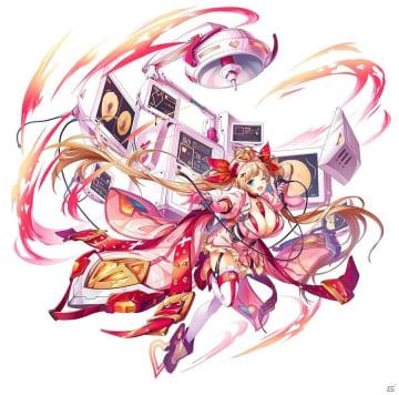 「神姫PROJECT A」ディアンケヒトとブエル、フローラが火属性になって新登場!DWUコラボも開催中