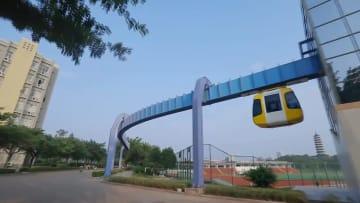 永久磁石を利用した新型磁気浮上式軌道交通システムが登場 江西省