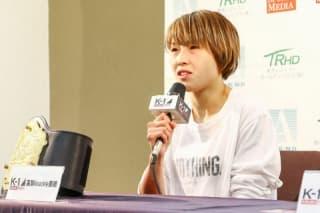 高梨は次戦は宣言通りKOできるか、今後に注目だ(C)M-1 Sports Media