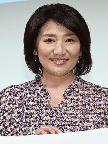 連続ドラマ「G線上のあなたと私」の舞台あいさつに登場した松下由樹さん