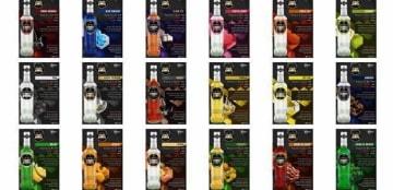 カリスマ・セラシ・ジャヤが生産する蒸留酒「Vibeリカー・アンド・スピリッツ」(同社ウェブサイトより)