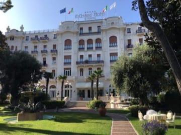 会場のグランド・ホテル・リミニ