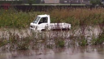 台風19号が過ぎた後の冠水・浸水被害 /銚子市