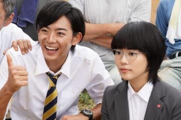 連続ドラマ「同期のサクラ」第2話のワンシーン=日本テレビ提供