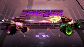 車で撃ち合うアリーナシューター『ShockRods』Steam配信開始!『カーマゲドン』開発元の新作