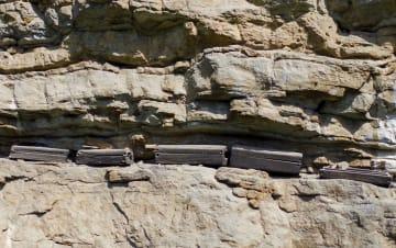 謎多い三峡ダム地区最大の岩棺群「荊竹壩岩棺群」 重慶市巫渓県
