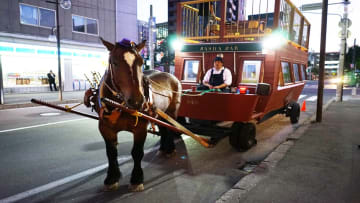 馬車に揺られて… 「土曜旅館 桜の間」日帰り弾丸ムリ目の旅 画像