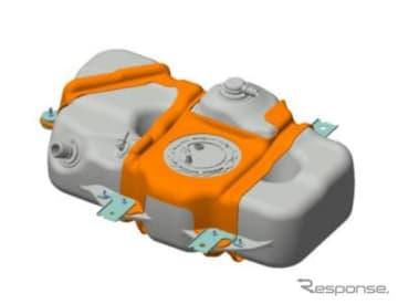 高圧密閉樹脂製燃料タンク