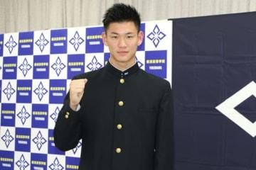 阪神が交渉権を獲得した横浜・及川雅貴【写真:編集部】