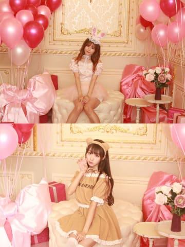 込山榛香(AKB48)、大谷映美里(=LOVE)、ハロウィンコスチュームを華やかに披露