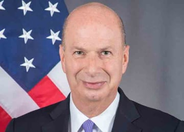 Official portrait of U.S. ambassador to the European Union Gordon Sondland (U.S. Department of State/Wikipedia)