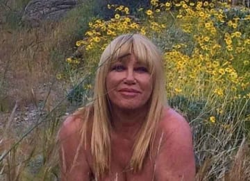 Suzanne Somers Celebrates Turning 73 In Her Birthday Suit!