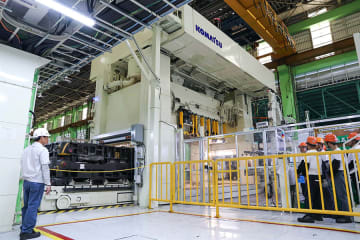 Toyota Motor Philippines expands production lines at its plant in Santa Rosa City, Laguna Province in July 2019. (Photo courtesy of Toyota Motor Philippines)