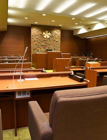 3回連続無投票と定数割れの可能性がある大石田町議選。議会には対策が求められる=同町議会議場