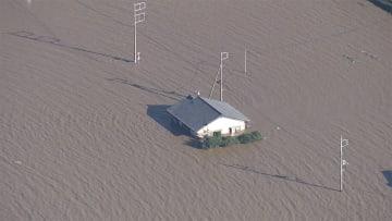 氾濫発生情報出ず...国交相謝罪 茨城・那珂川 氾濫したのに...
