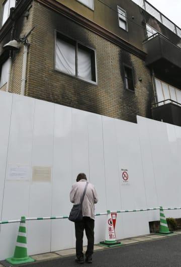京アニ、早期の再建を願う声 「聖地」や現場で、発生3カ月 画像